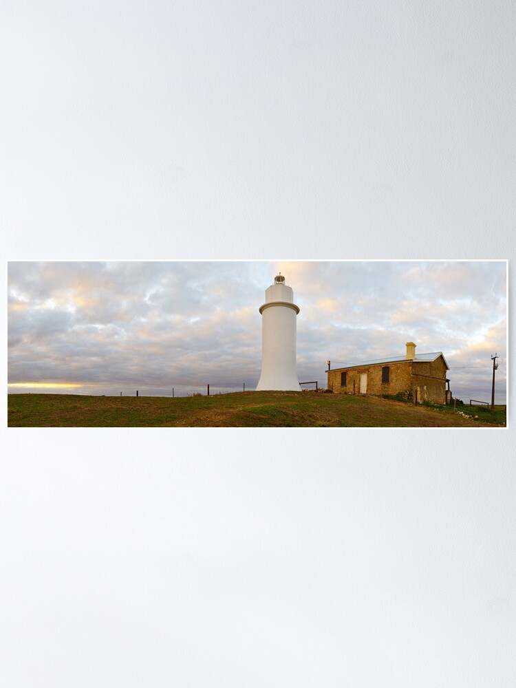 Alternate view of Point Malcom Lighthouse, Lake Alexandrina, South Australia Poster