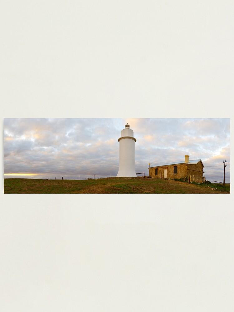 Alternate view of Point Malcom Lighthouse, Lake Alexandrina, South Australia Photographic Print