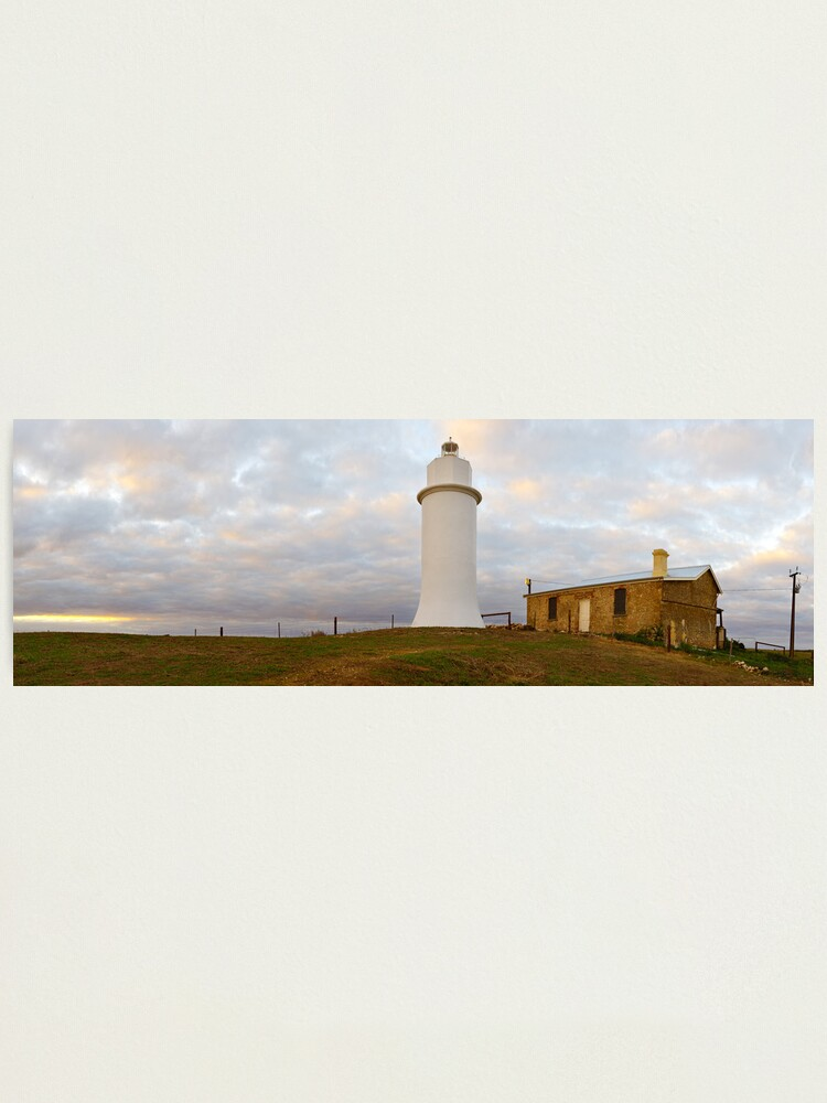Alternate view of Point Malcom Lighthouse, Lake Alexandrina, South Australia Photographic Print
