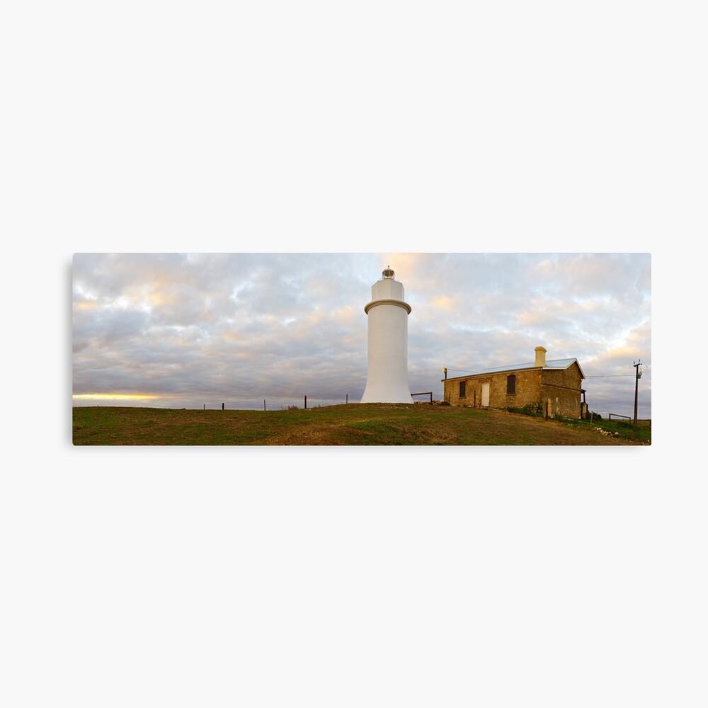Point Malcom Lighthouse, Lake Alexandrina, South Australia Canvas Print