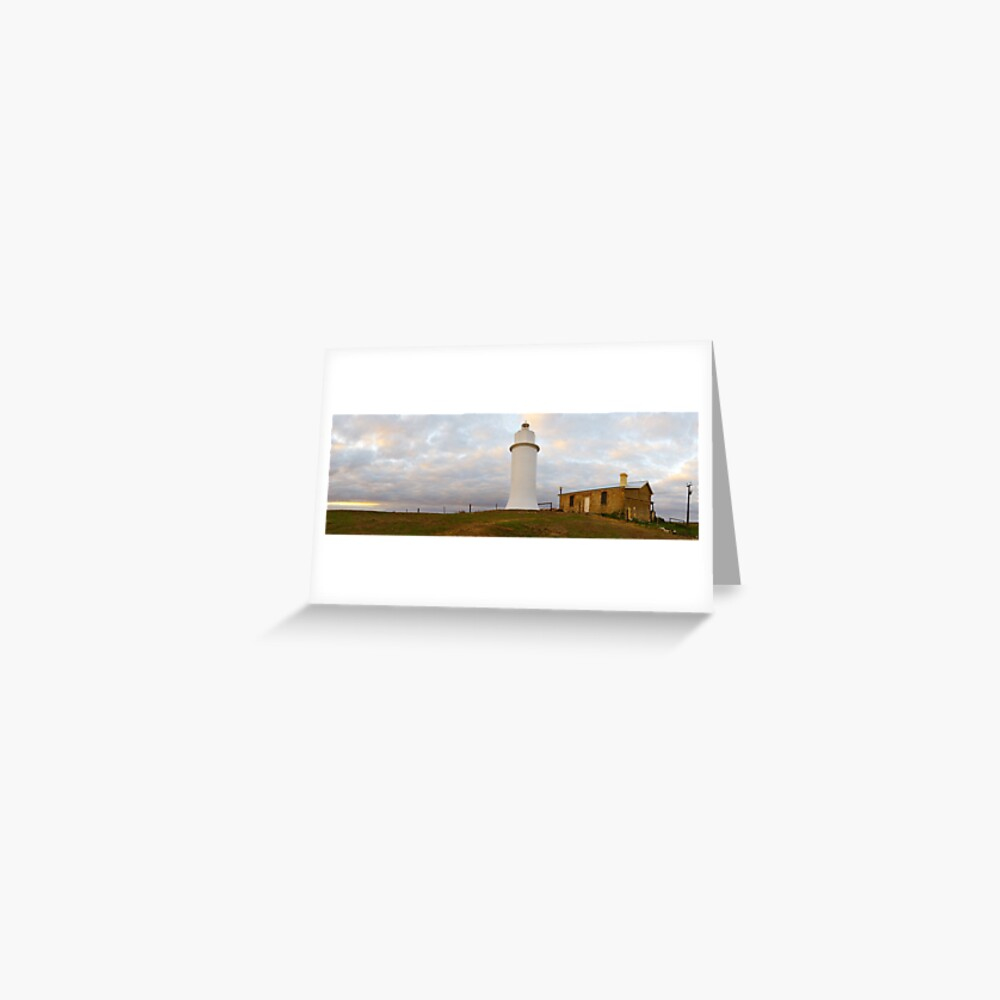 Point Malcom Lighthouse, Lake Alexandrina, South Australia Greeting Card