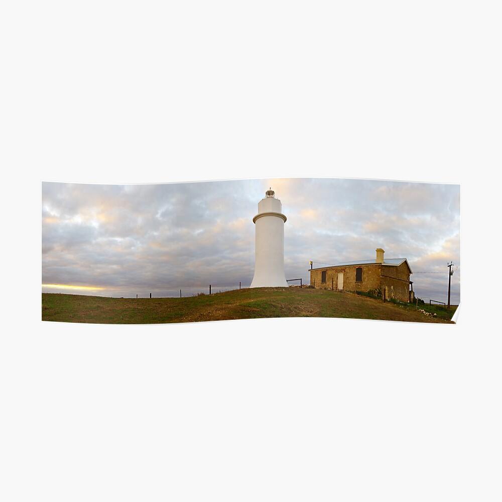 Point Malcom Lighthouse, Lake Alexandrina, South Australia Poster