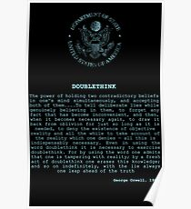DOUBLETHINK Poster