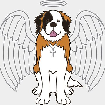Saint Bernard  by pjbrick7