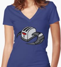 Frakking Toasters Women's Fitted V-Neck T-Shirt