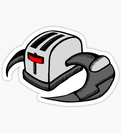 Frakking Toasters Sticker