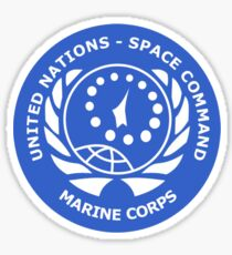 United Nation Space Command T-Shirt Sticker