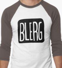 BIG BLERG Men's Baseball ¾ T-Shirt