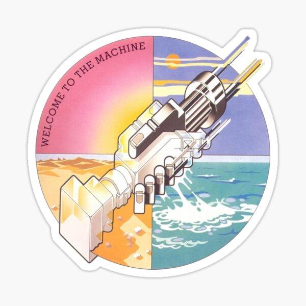 Machine Hand Sticker