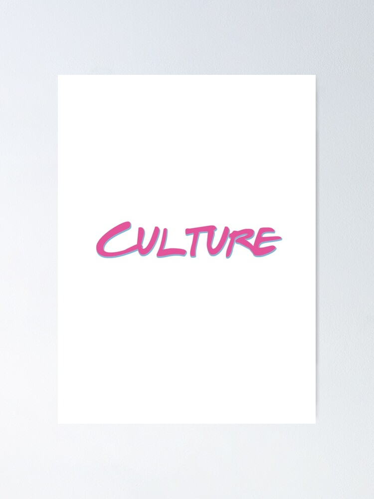 Miami Heat Culture Vice Apparel Poster By Cinemania Redbubble