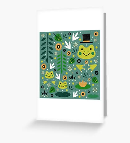 Frog Pond Greeting Card