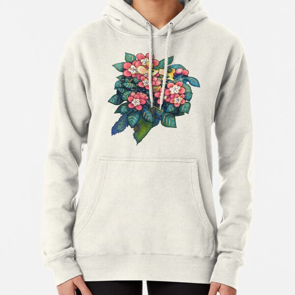 Forest Gathering, Mice and wish. Pullover Hoodie