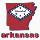 Arkansas state flag by peteroxcliffe