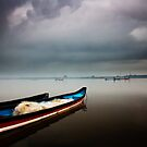 boats and monsoon by Dinni H