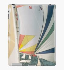 Racing yachts iPad Case/Skin