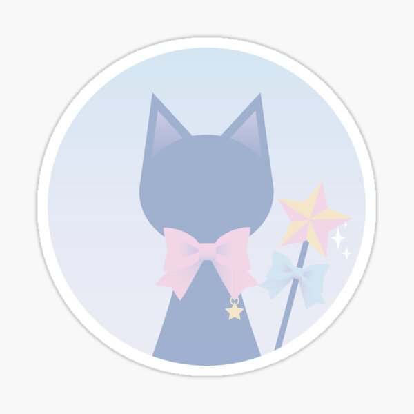 My Cat Has Magical Powers Sticker