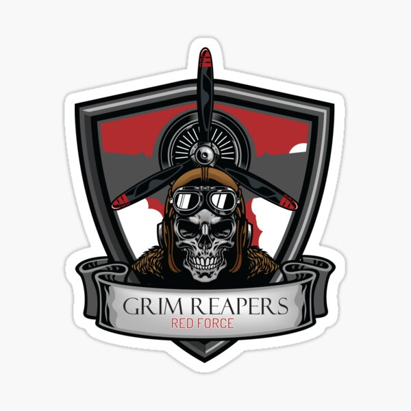 Grim Reapers Redfor! Sticker