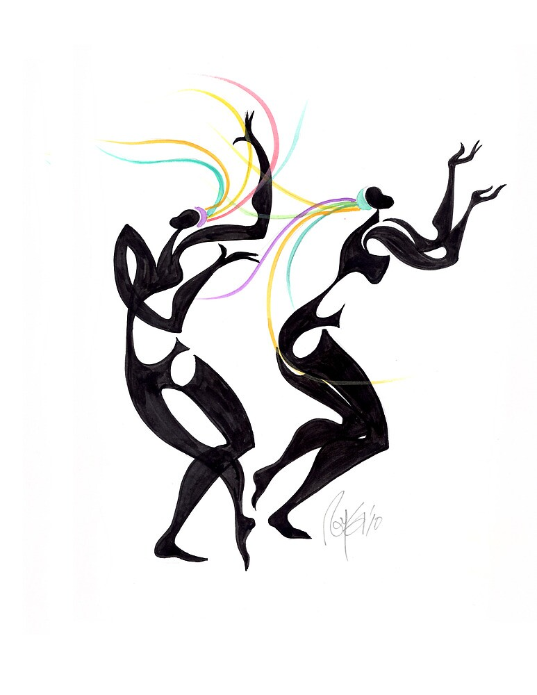 Free Dancers by Roy Guzman