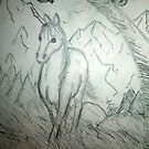A Horse In The Clearing by DeeLishess