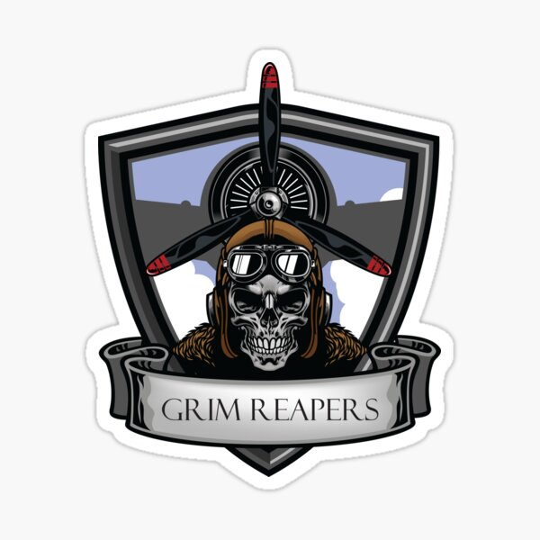 Grim Reapers Bluefor! Sticker