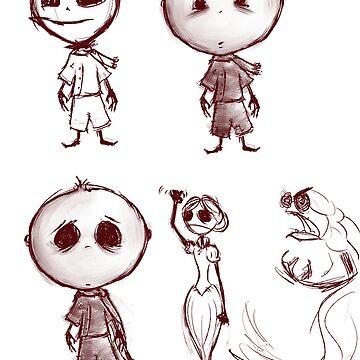 Luthaniel Sketches by MattNicholls