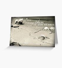 Carry Them Greeting Card
