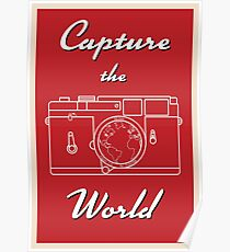 Capture the World Poster