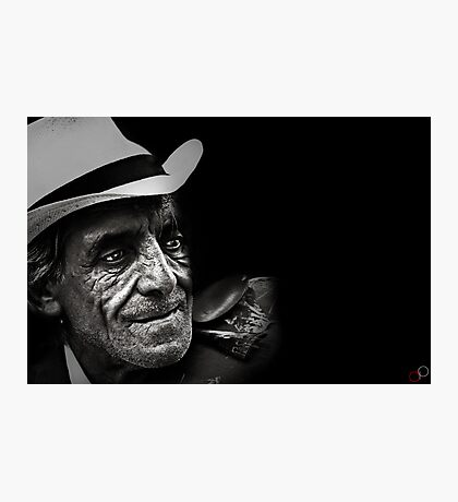 Faces of Venice - The Busker Photographic Print
