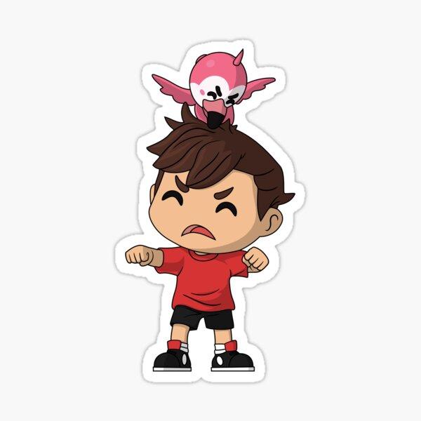 Flamingo Youtooz Sticker
