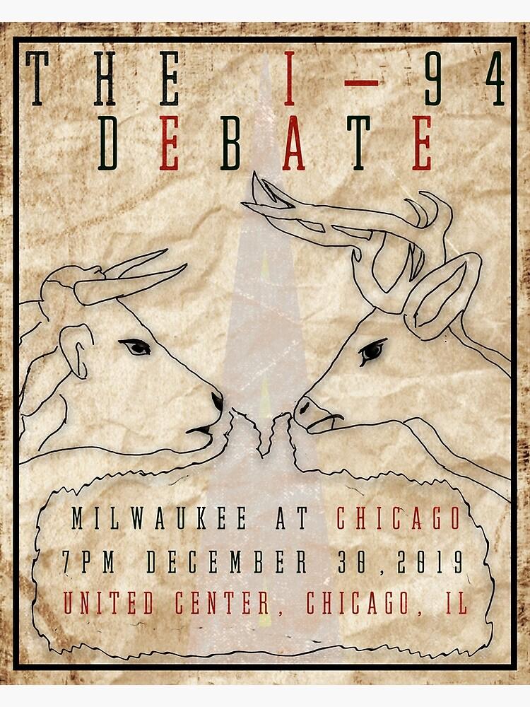 The I-94 Debate by AJW3-Art