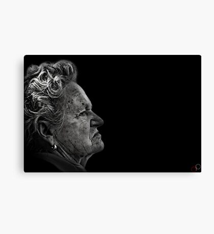 Faces of Venice - The Cook Canvas Print