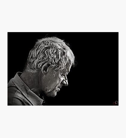 Faces of Venice - The Quiet Husband Photographic Print