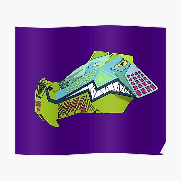iron gwazi alligator  Poster
