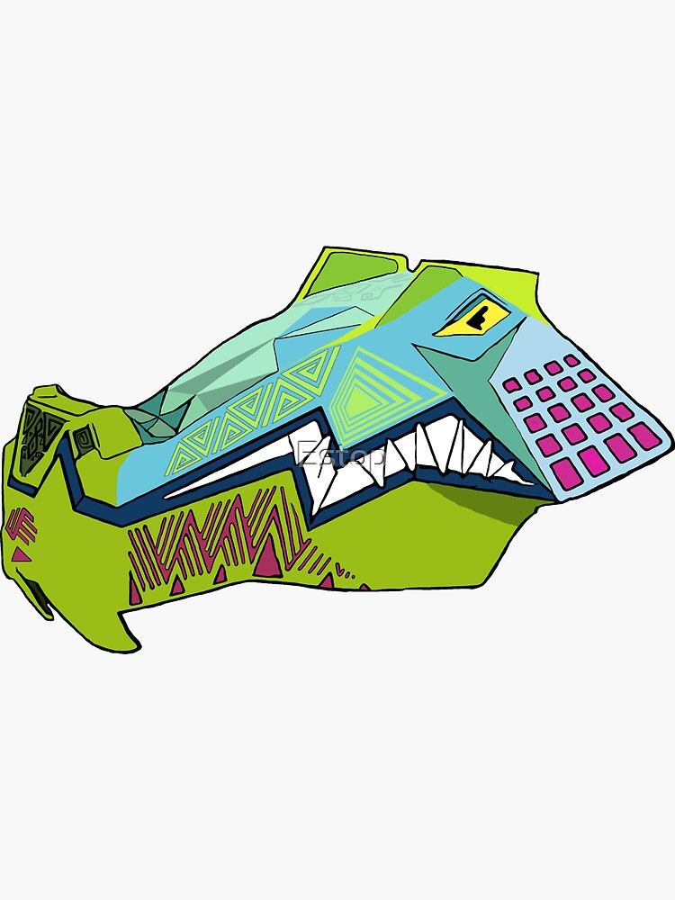iron gwazi alligator  by Estop