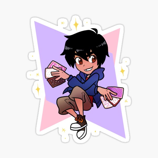 Pop-tart Master Hiro Sticker
