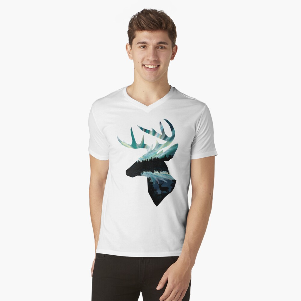 Year of the Deer V-Neck T-Shirt