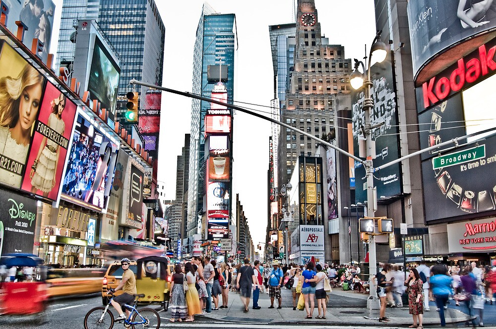 Times Square, NYC by rhysharper