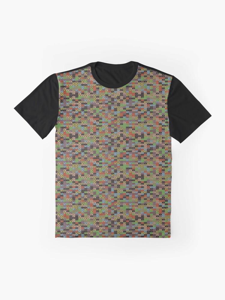 Alternate view of CG Random Pattern Graphic T-Shirt