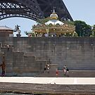 Eiffel from the River Seine by Eric Flamant