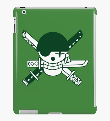 Zoro - Jolly Roger iPad Case/Skin