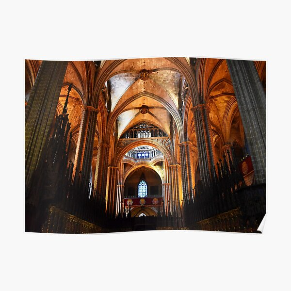 Cathedral of Saint Eulalia, Barcelona Poster