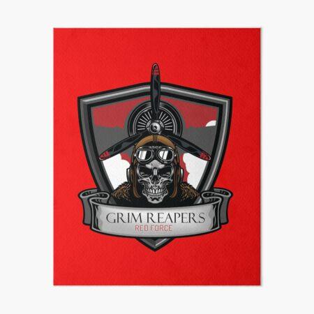 Grim Reapers Redfor! Art Board Print