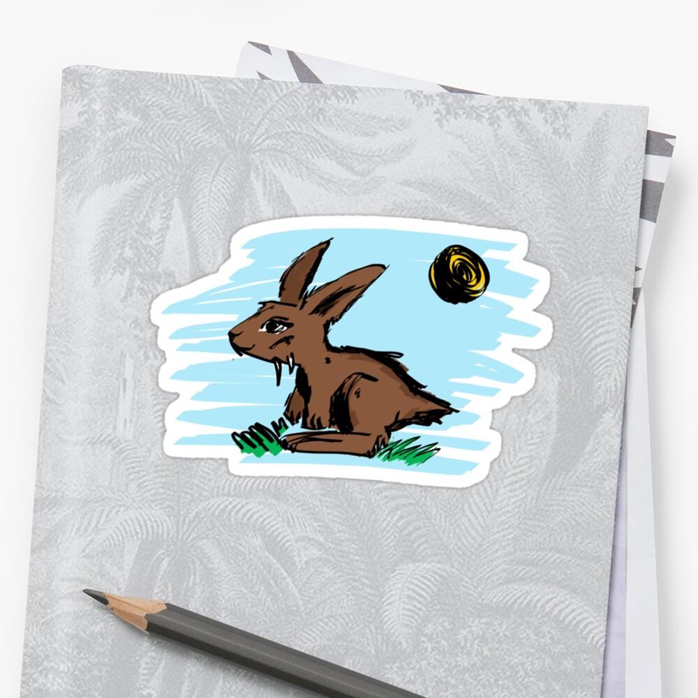 Rabbit illustration by Chealey