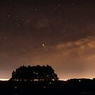 Lunar eclipse from Ridge Road by Robyn Lakeman