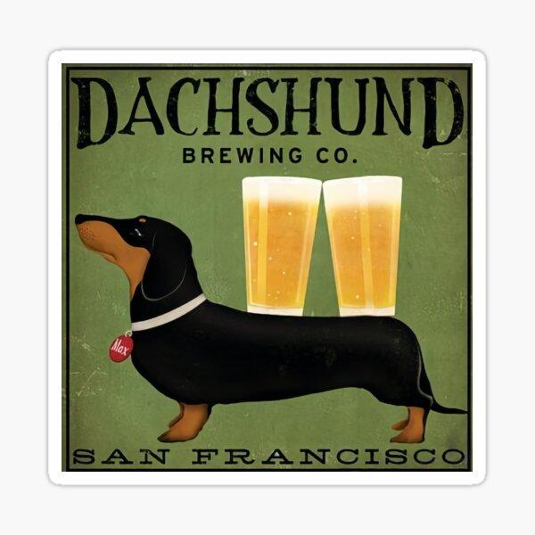 Dachshund Brewing Co. Sticker