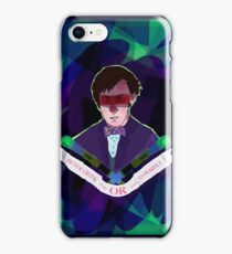 Never Give In, Never Give Up iPhone Case/Skin