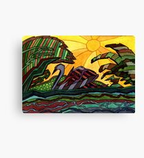 153 - SWAN - DAVE EDWARDS - WATERCOLOUR - 2006 Canvas Print
