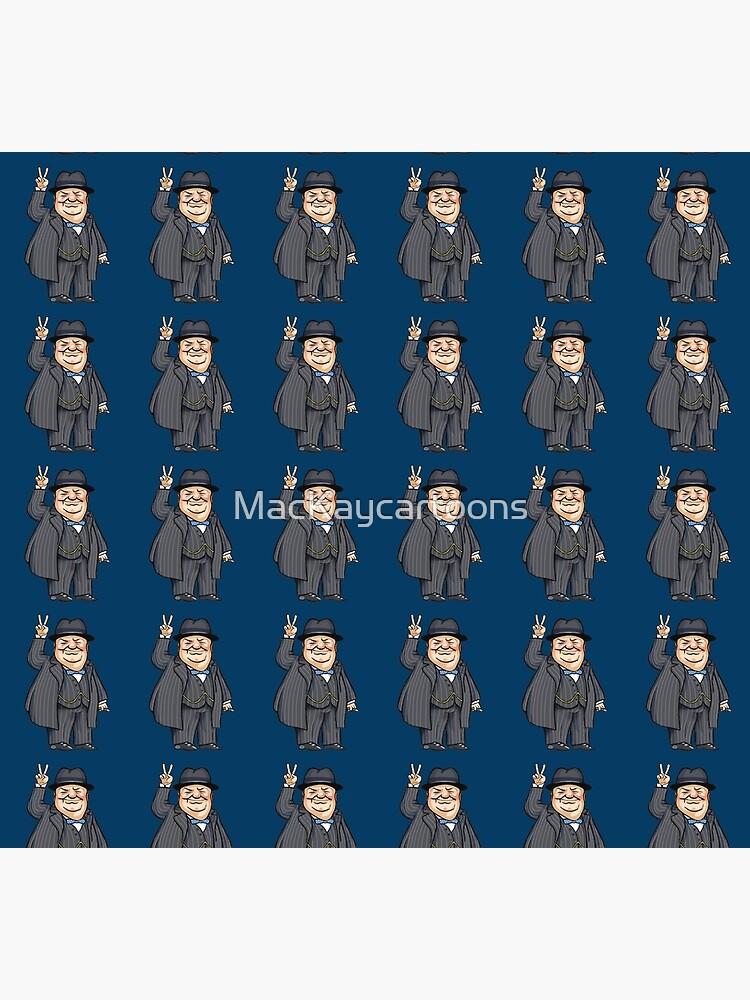 Winston Churchill by MacKaycartoons