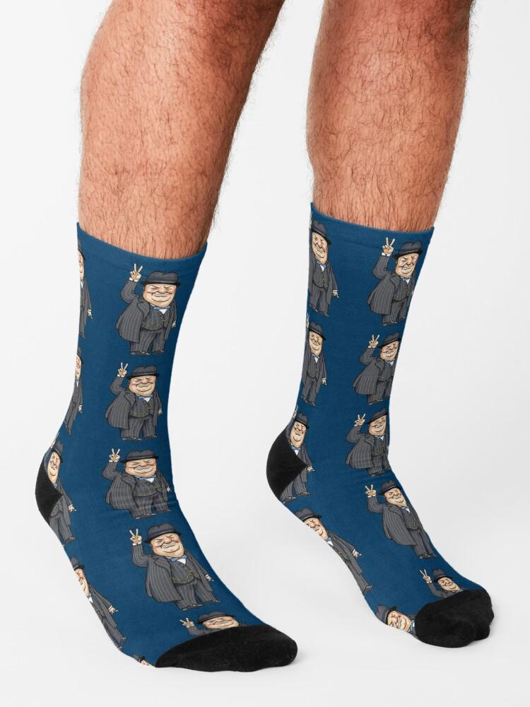 Alternate view of Winston Churchill Socks