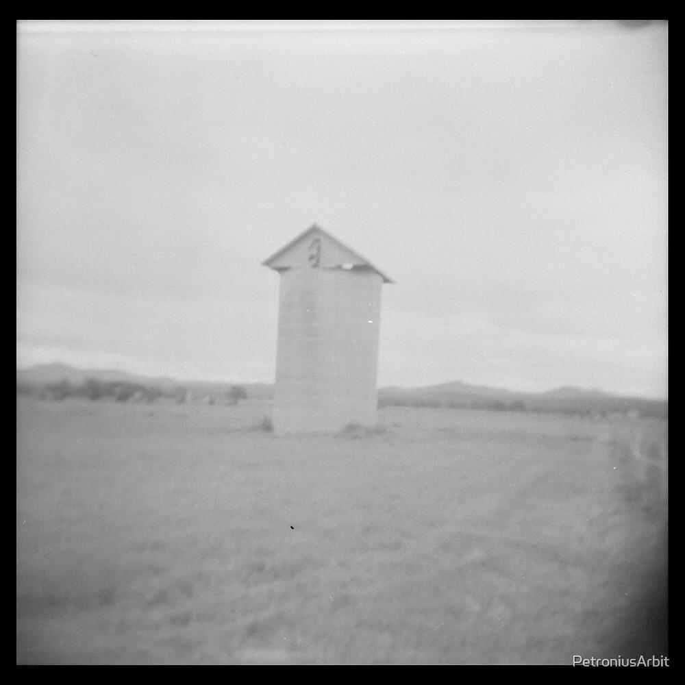Grain silo by PetroniusArbit